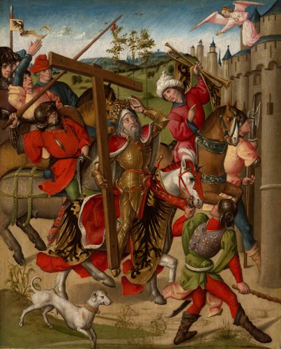 Emperor Heraclius Denied Entry into Jerusalem | The Art Institute of Chicago