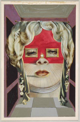 Mae West's Face which May be Used as a Surrealist Apartment | The Art Institute of Chicago