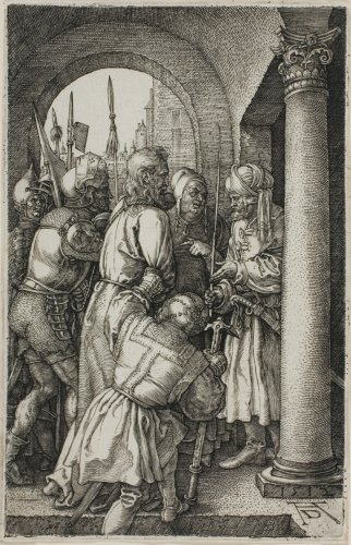 Christ Before Pilate, from The Engraved Passion | The Art Institute of Chicago