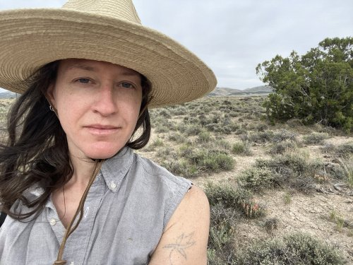 How Brie Ruais Uses Her Own Body to Shape Her Clay Sculptures, and the Desert Sounds That Keep Her Motivated