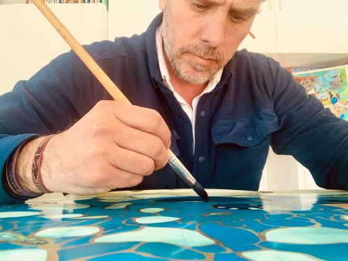 We Spoke to Hunter Biden About His New Life as a Full-Time Artist, and His Personal Quest for 'Universal Truth' Through Painting