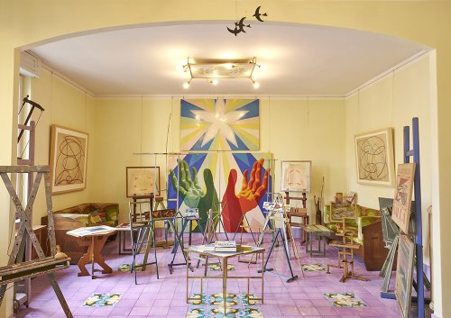 In Pictures: See Inside the Italian Futurist Painter Giacomo Balla's Apartment, and Works From His Current Retrospective in Rome