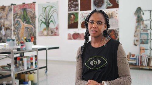 'I've Always Been a City Girl With a Nature Brain': Watch Sculptor Wangechi Mutu Weave Worlds Together in Her Sculpture   Artnet News