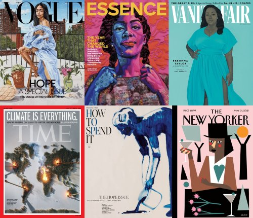 Magazines Are Trading Celebrity Covers for Artworks as They Strive to Stay in Touch With the Serious Issues of Our Time