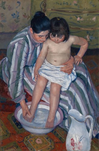 This Tender Mary Cassatt Painting of a Mother and Child Is Surprisingly Fraught. Here Are 3 Things You Might Not Know About 'The Child's Bath' | Artnet News