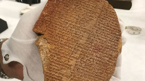 Once Smuggled Out of Iraq, the Gilgamesh Dream Tablet Has Been Seized by U.S. Authorities and Will Be Returned