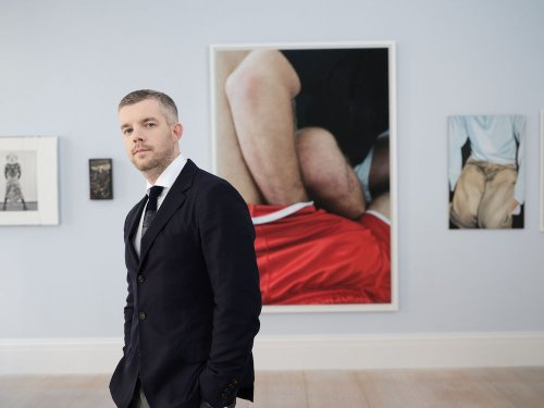 Celeb Podcaster Russell Tovey's Sotheby's Sale Generates $8.5 Million—and Fierce Competition for Young Stars | Artnet News