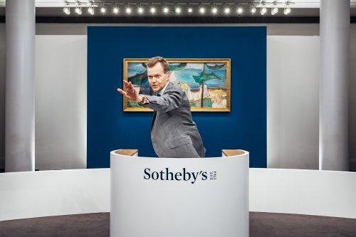 Sotheby's Rakes in $176 Million in a Global, Five-Hour Franken-Sale Led by Edvard Munch's $22 Million Beach Landscape