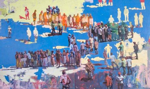 Spotlight: Kenyan Artist Elias Mung'ora's Poignant New Works Celebrate the Beauty of Nairobi's Dwindling Public Spaces