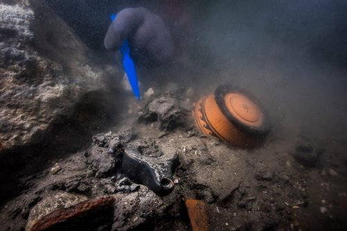 In the Underwater Egyptian City of Thônis-Heracleion, Divers Have Discovered an Ancient Warcraft