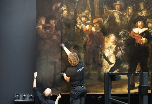 Rembrandt's Beloved 'Night Watch' Was Cut Up to Fit Through a Door. With A.I., You Can See It in Full for the First Time in 300 Years
