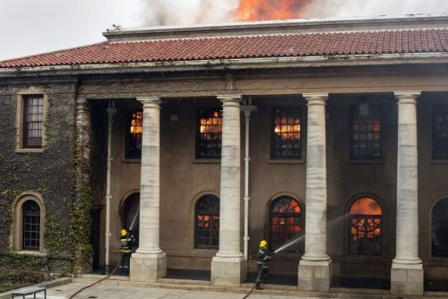 A Wildfire Has Gutted the University of Cape Town Library and Its Priceless African Studies Collection