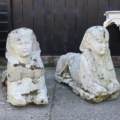 These Sphinx Patio Ornaments Were Offered for $700 at an English Auction House. Turns Out They're Ancient—and Sold for $265,000 | Artnet News