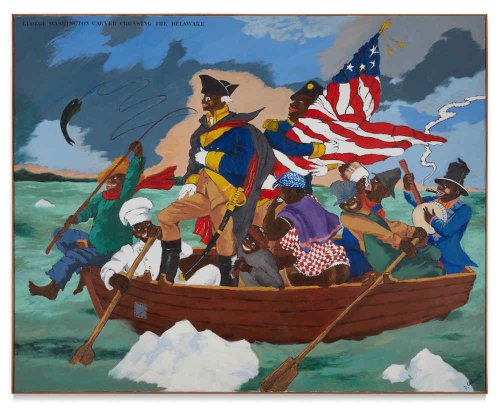 George Lucas's Museum Bought a Robert Colescott's Wry Depiction of the American Revolution for $15.3 Million at Sotheby's