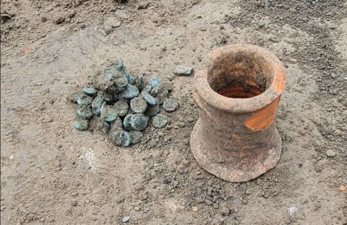 Archaeologists Have Unearthed a Rare Cache of 6th-Century Coins Hidden in the Ancient Greek City of Phanagoria