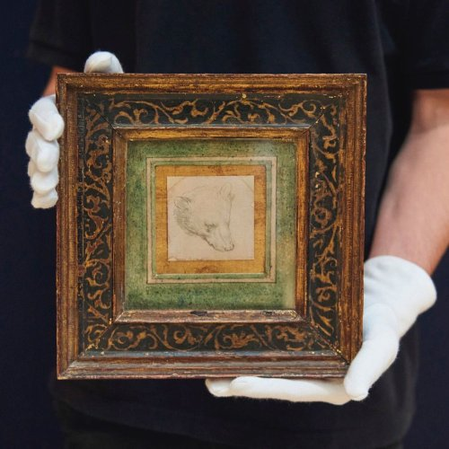 A Leonardo da Vinci Drawing the Size of a Postage Stamp Sold for $12.2 Million at Christie's (But It Only Got a Single Bid) | Artnet News