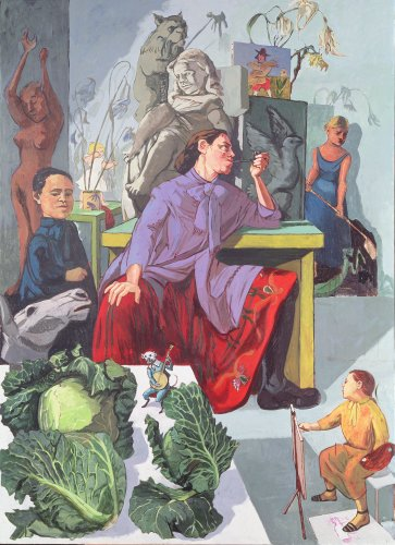 What My Mentor, Paula Rego, Taught Me About Feminism, Drawing, and the Potential of a Well-Told Story | Artnet News