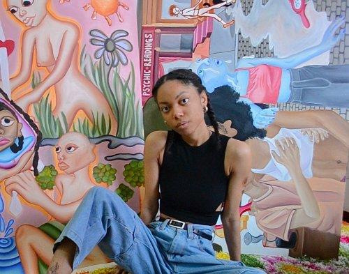 Spotlight: Brooklyn Artist Dodi King Paints Fantastical Worlds Rooted in Spirituality and Myth | Artnet News