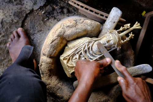 The Benin Bronzes Aren't Just Ancient History. Meet the Contemporary Casters Who Are Still Making Them Today   Artnet News
