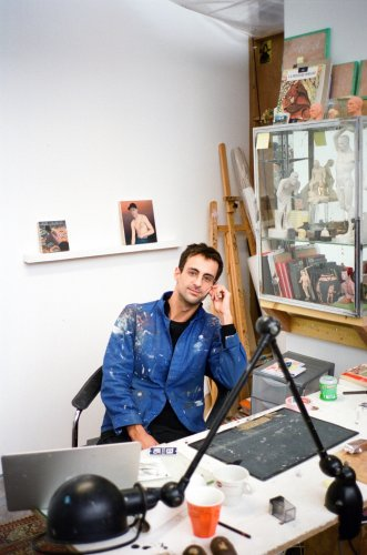 What French Painter Jean Claracq Needs to Complete His Enchanting Miniatures: Instagram, Magnifying Glasses, and the Odd Cigarette Break | Artnet News