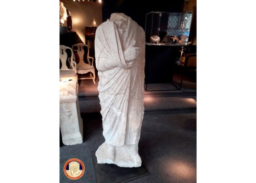Italian Police Discover Looted Ancient Roman Sculpture in Belgian Antiques Shop