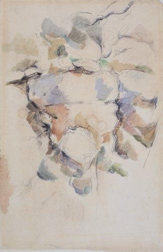 """One Work: Paul Cézanne's """"Rocks near the Caves above Château Noir"""""""
