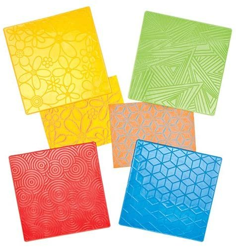 Liven your drawings with the Best Textured Rubbing Plates