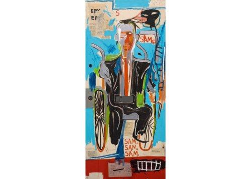Dallas Museum Acquires Basquiat Apartment Door Painting: 'A Treasured Object'