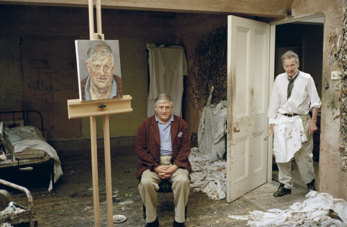 Lucian Freud's Portrait of David Hockney Could Fetch $11 M. at Auction