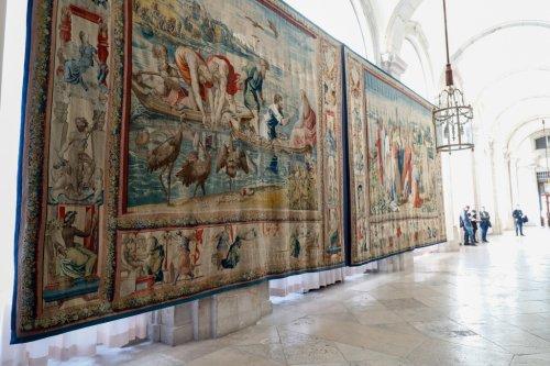 Pigeons Threaten Priceless Set of Raphael Tapestries on Display in Madrid