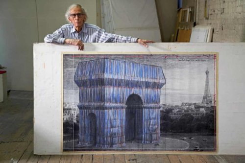 Christo's Arc de Triomphe Wrapping Planned for September