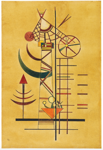Lost for 70 Years, Kandinsky Watercolor to Sell in Germany