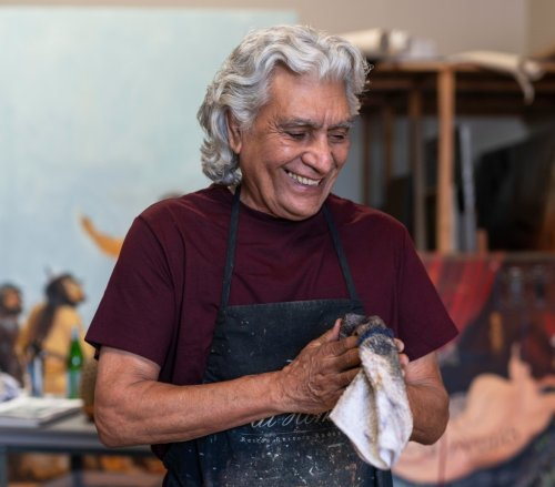 With His Heartfelt Paintings, Artist Raul Guerrero Searches for His Place in the World