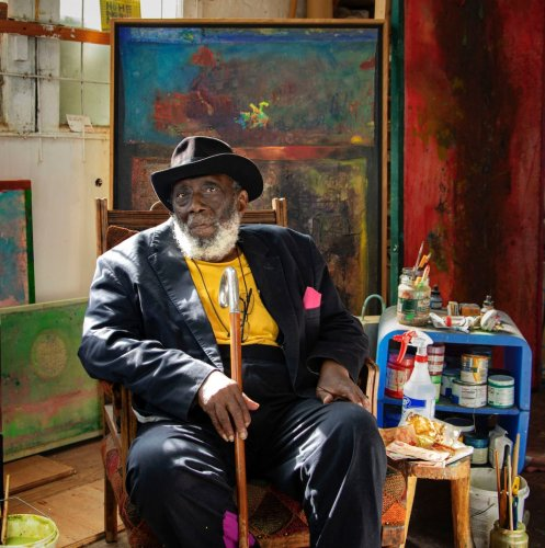 Frank Bowling Knighted by Queen of England: 'My Identity as a British Artist Has Always Been Crucial'