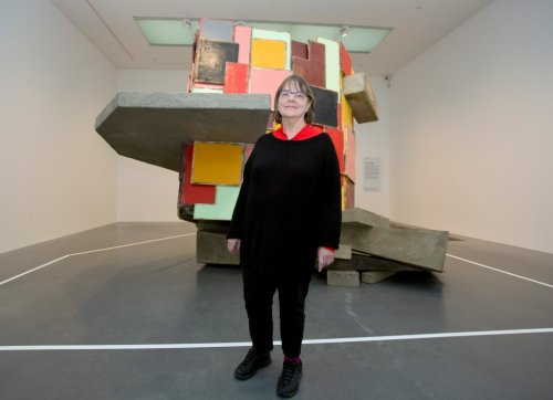 Sculptor Phyllida Barlow Made a Dame by Queen of England