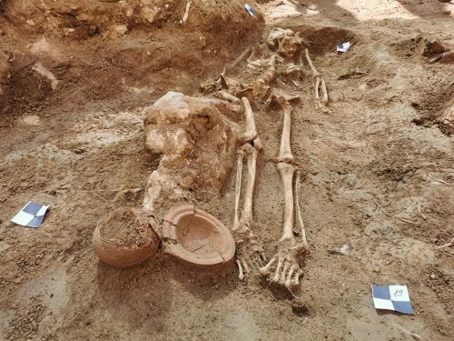 Ancient Necropolis Discovered in 17th-Century Croatian Palace Garden