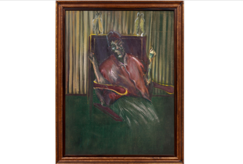 In Auction Debut, Bacon Pope Painting Could Fetch as Much as $45 M.