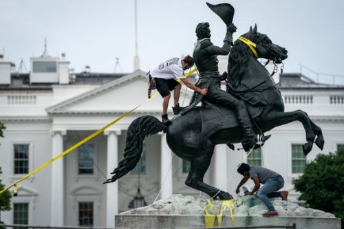 Can We Say The Destroying of Racist Figure Statue as An Artwork?