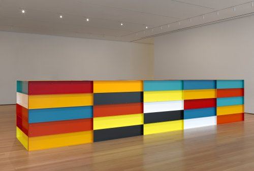 Judd's Colorful Box that Makes Us Thinking Out of the Box