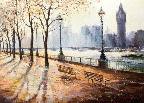 Gleb Goloubetski: a Cityscape Impressionist Painter