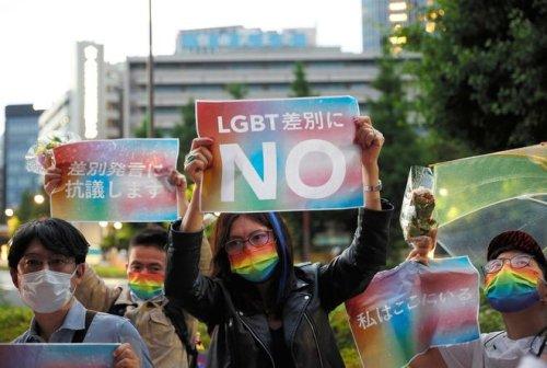Japan LGBTQ activists push for equality law before Olympics : The Asahi Shimbun