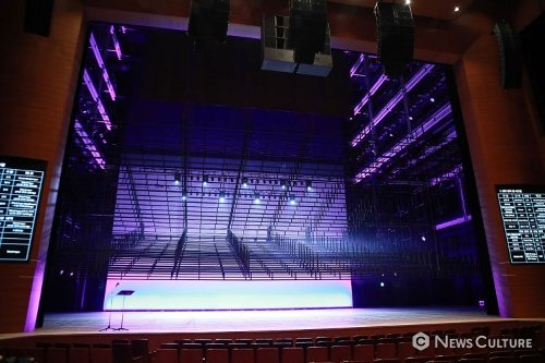 [NC포토] 리모델링 후 최첨단 시설을 선보이는 해오름극장
