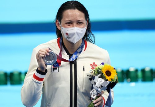 Hong Kong Swimmer Siobhan Haughey Wins Historic Olympic Silver Medal