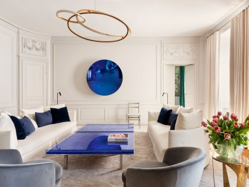 Home Tour: This Geneva Apartment Brims With Historic Charm and Modern Art