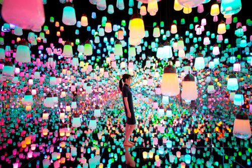 Japan's teamLab Borderless Is The World's Most Visited Museum