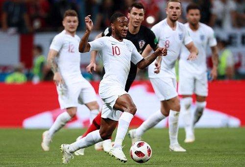 Inghilterra-Croazia 1-0, decide Sterling