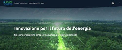 Snam lancia programma di Open Innovation per la transizione energetica