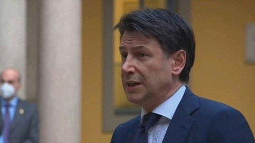"""""""Il sostegno del M5S a Draghi continuerà"""" (Conte)"""