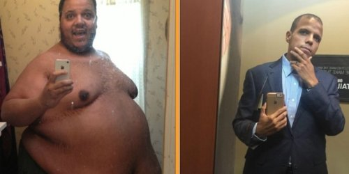 This Guy Used An Internet Forum To Drop 450 Pounds
