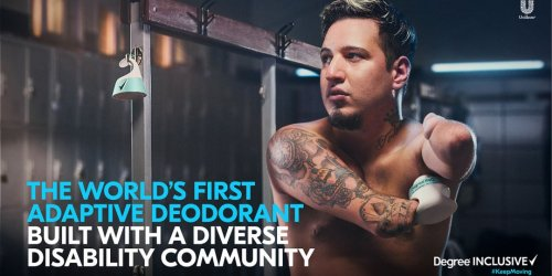 """Degree's New """"Inclusive"""" Deodorant Is a Game-Changer"""